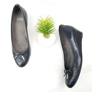 Stuart Weitzman Quilty Bow Pumps Wedge Heels Shoes